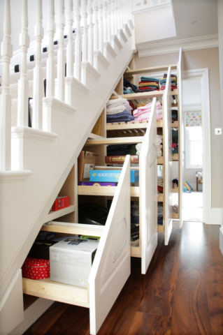 15 creative and clever under stair storage designs for Clever hidden storage