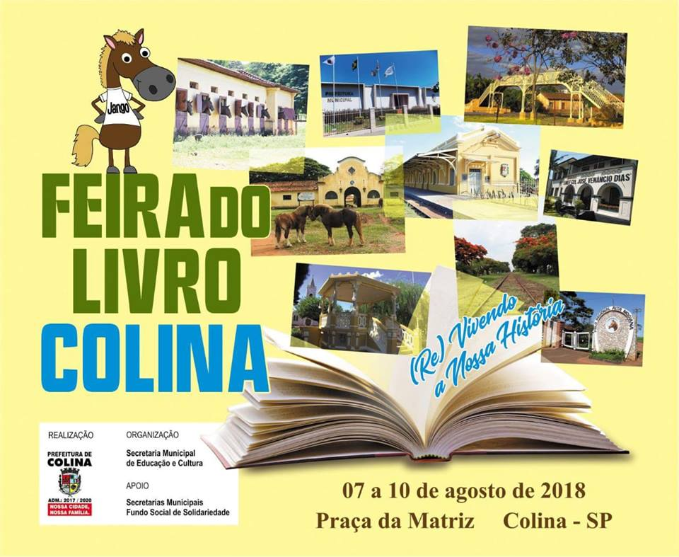 I Feira do Livro de Colina - agosto/2018