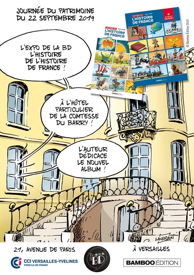 Journée du patrimoine ... 22 septembre ... Versailles