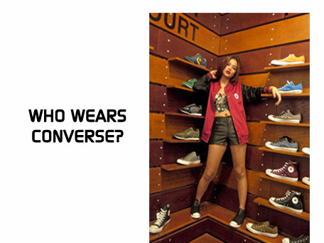 Who wears Converse?