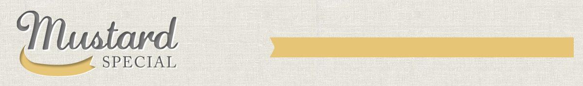 Mustard Special : Envye Premade Blogger Template