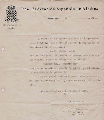 Carta de Valentín Marín a Ribera