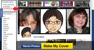 CoverCanvas Your Photos 4 Como fazer capas personalizada pro Facebook  photoshop