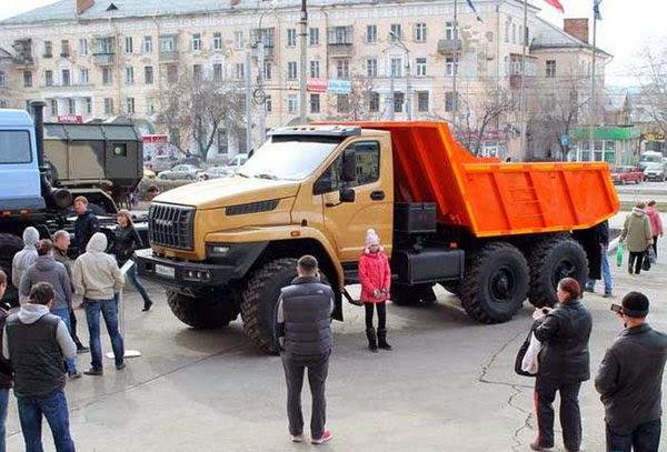 новые грузовики УРАЛ