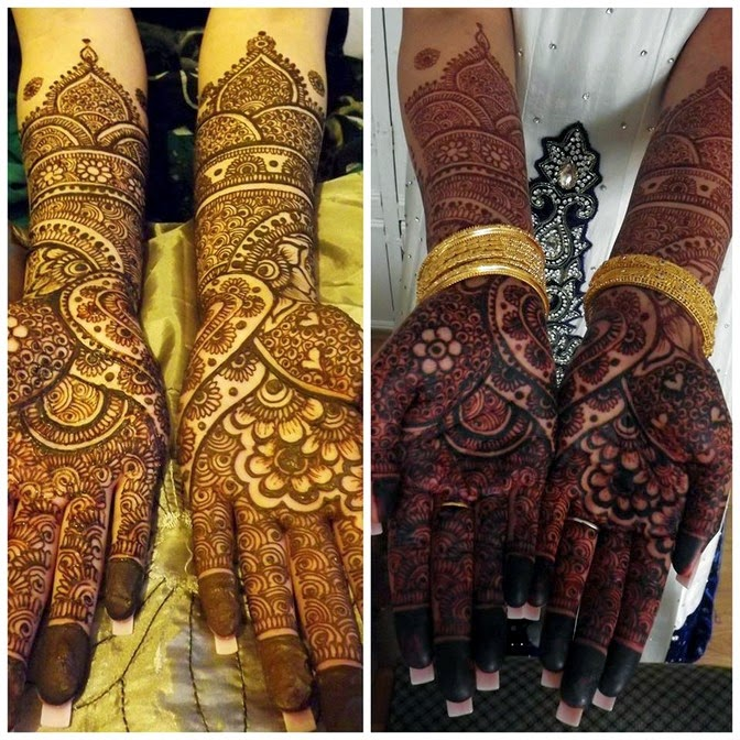 Bridal Mehndi Collection : Best bridal mehndi designs collection indian