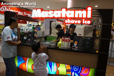 Masatami Shave Ice at Robinsons Galleria