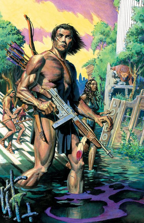 Tarzan Dark Horse Comics