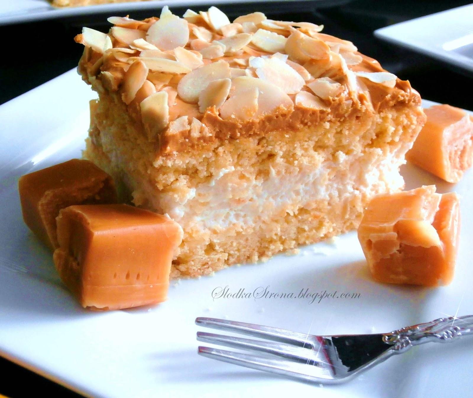 Ciasto Krówka - Przepis - Słodka Strona