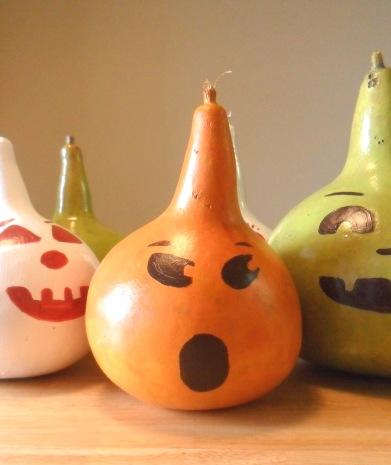 Jack-o-lantern Gourds