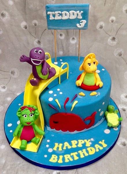 birthday cake for barney gallery