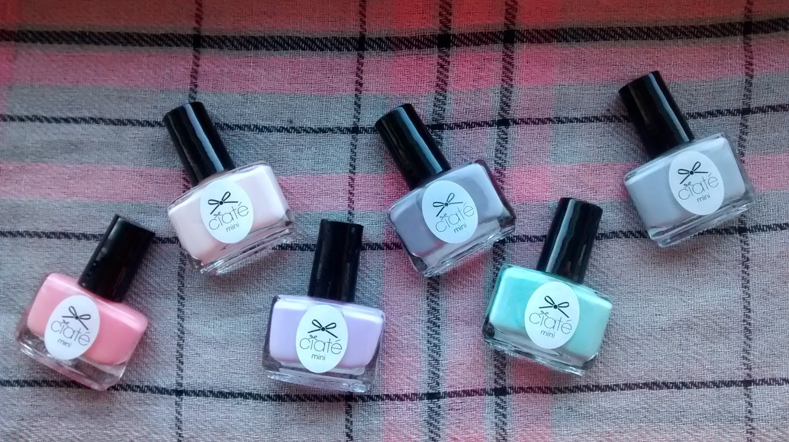 Ciate Pastel Polishes