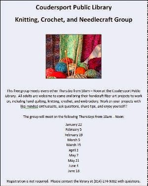 Knitting, Crochet, and Needlecraft