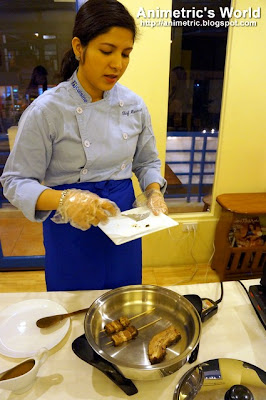 Chef Hannah Herrera-Bagatsing at H Cuisine