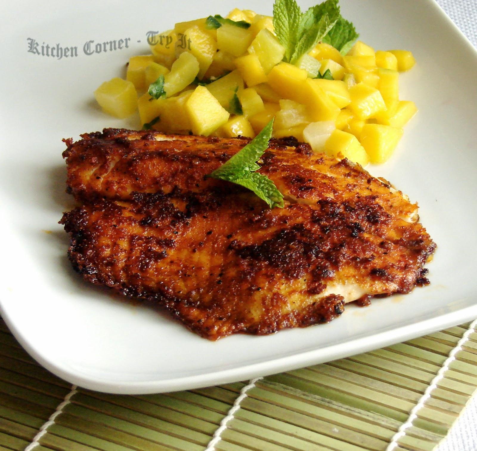 Cajun fish fillets recipe tastyfix for Cajun fish recipes