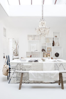 Inspiration for my white studio