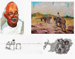 Recuerdo de nuestro profesor artista plastico univesitario de la UNSA:  LUIS PANTIGOSO RODRIGUEZ