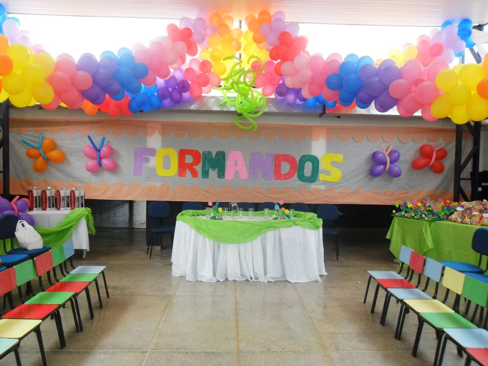 Excepcional Escola Municipal Professora Gabriela Amado: Formatura Educação  AD28