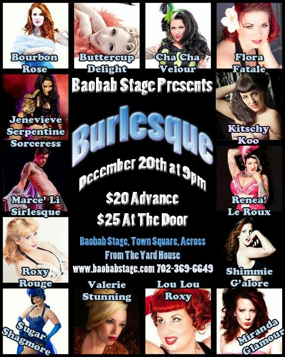 Baobob Stage Presents burlesque