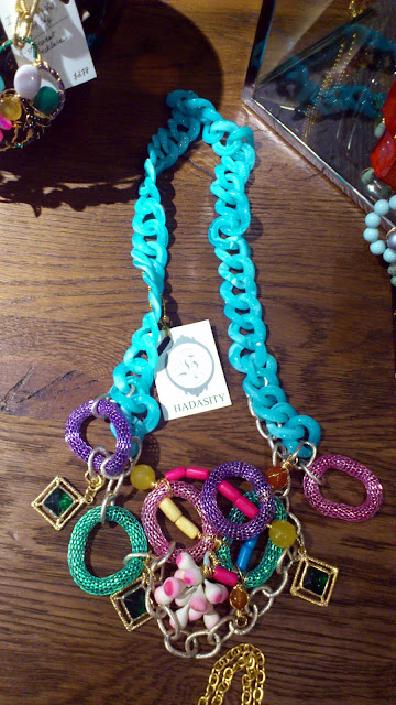 Colourful hand made necklace from Singapore's Hadasity