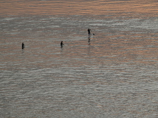 Surfers and Paddleboarders, Photo by Kaliani Devinne, Copyright 2013