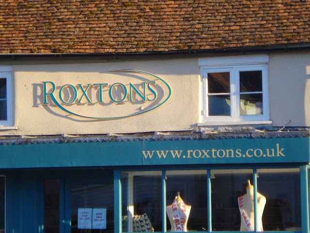 Roxtons with a seasonal sale under way