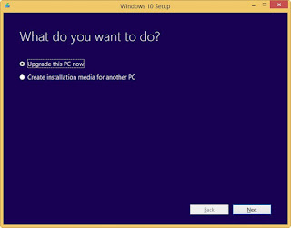 how to install windows 10 upgrade