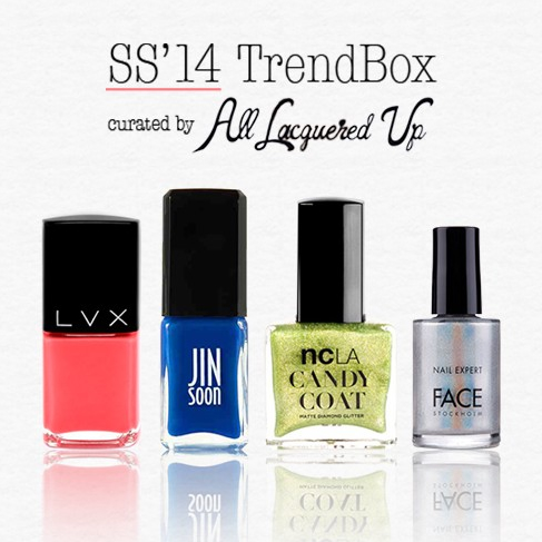 Nailbox TrendBox SS'14 All Lacquered Up