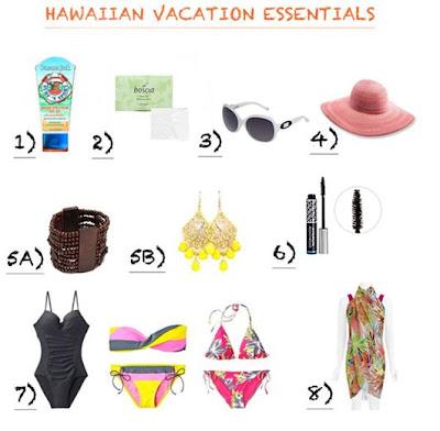 hawaiian vacation essentials for women