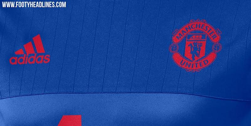 Nuevas camisetas de entrenamiento adidas del Manchester United