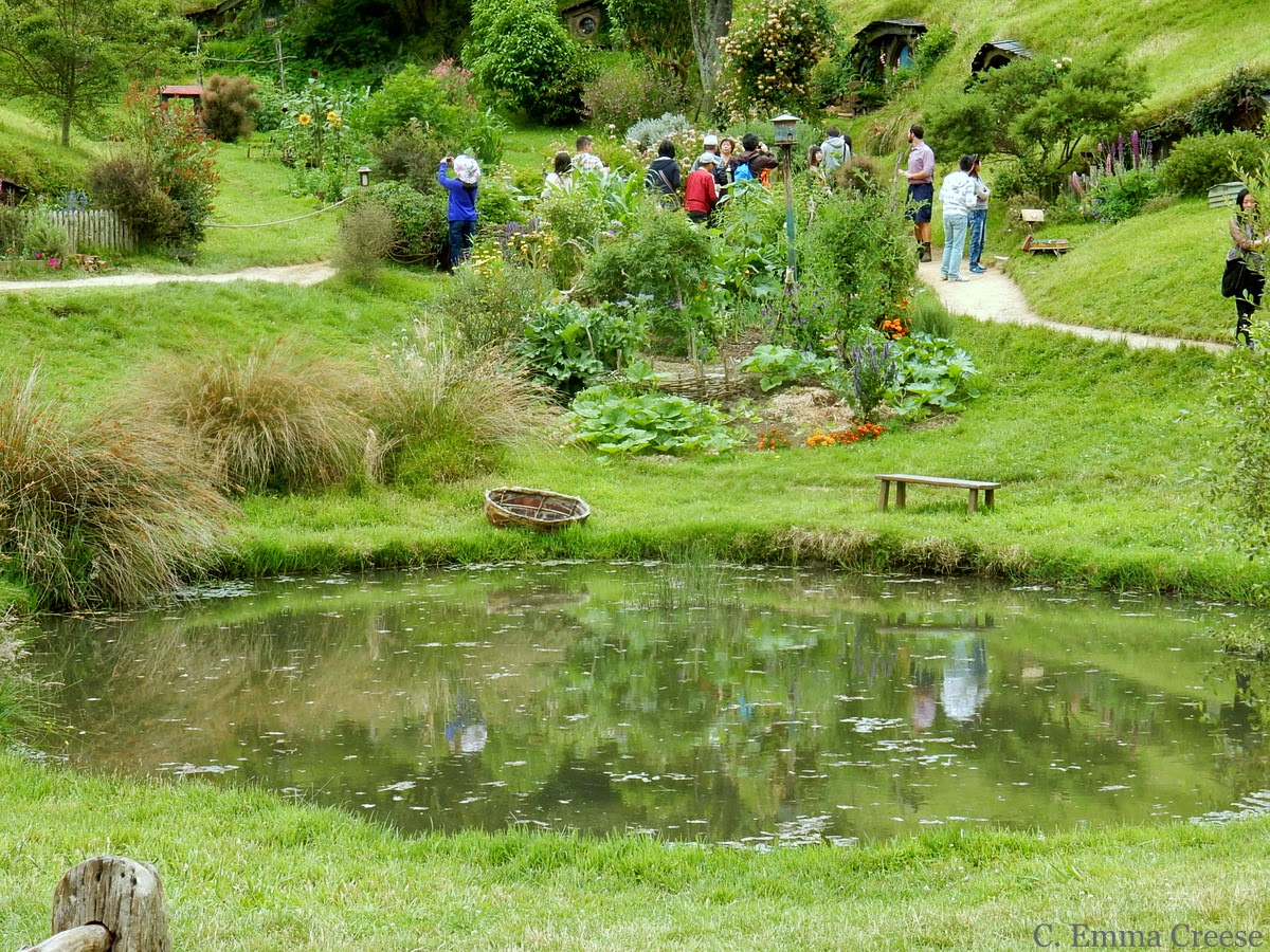 Lord of the Rings: Hobbiton, Middle Earth aka Matamata, New Zealand