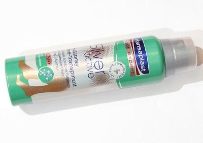 Hansaplast Foot Expert Silver Active Fußspray Anti Transpirant