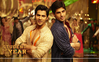 Student Of The Year HD Wallpaper Varun Dhawan, Sidharth Malhotra