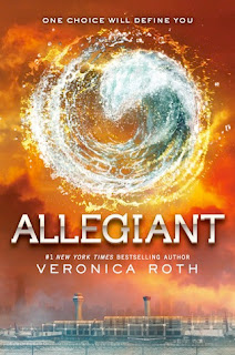 Allegiant - Veronica Roth book cover