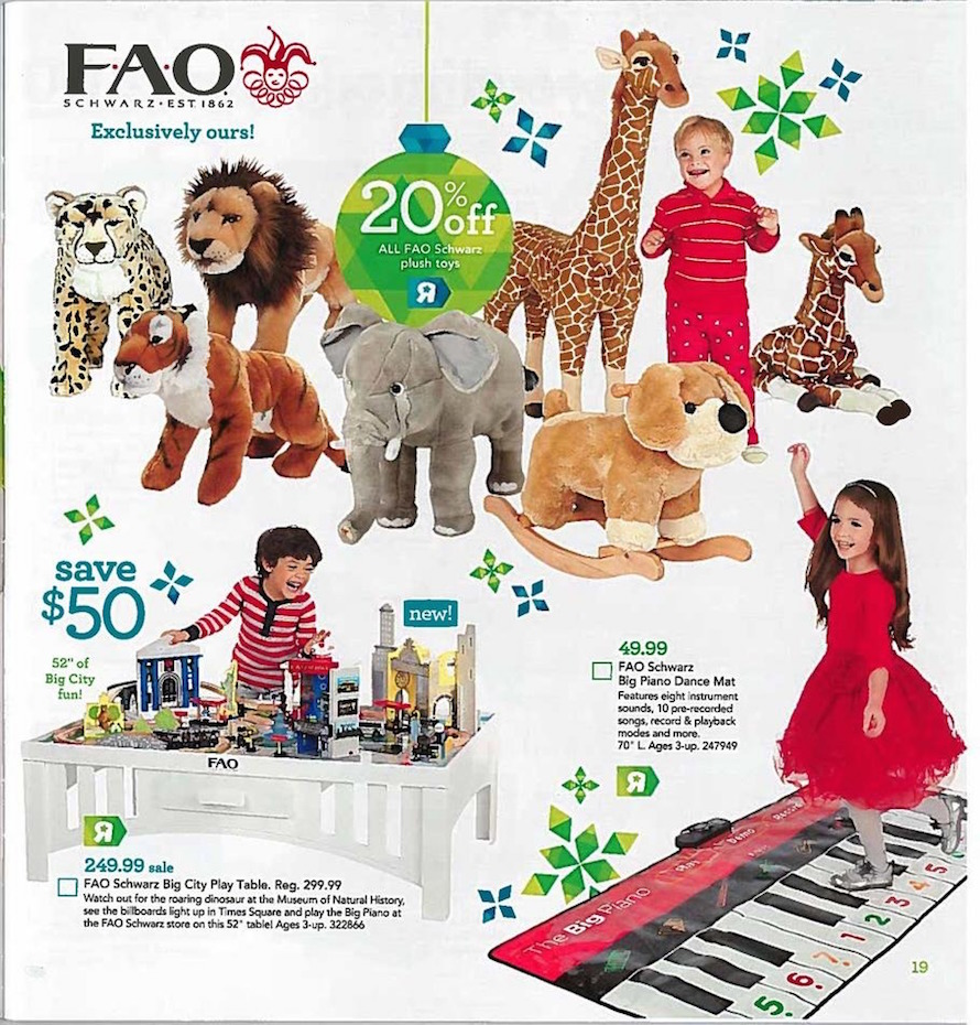 Toys For Holidays : Toys r us holiday toy book ad scan