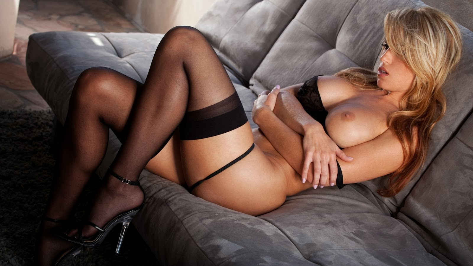 Randy Moore Black Stockings Sexy Diva Wallpaper
