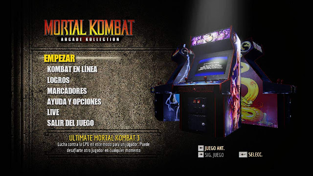 Mortal Kombat Arcade Kollection PC Full 2012 THETA Español