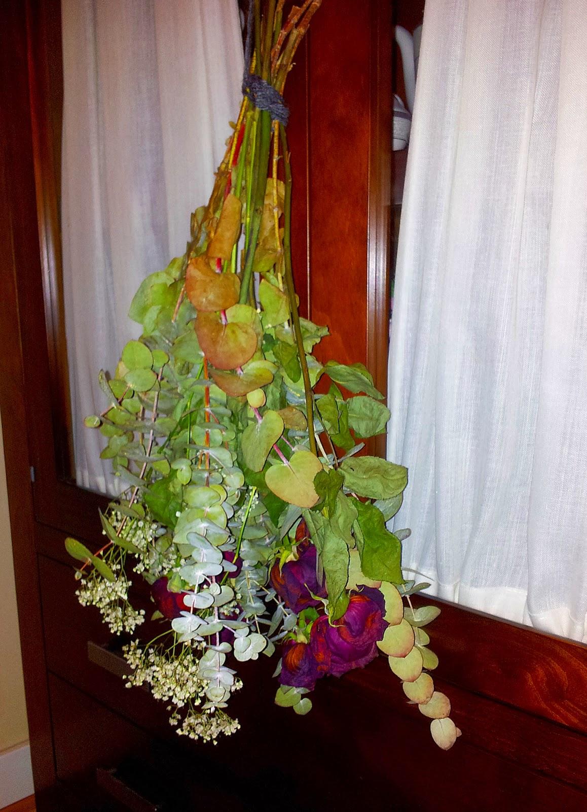 Labores en la luna secar un ramo de rosas - Como secar un ramo de rosas ...