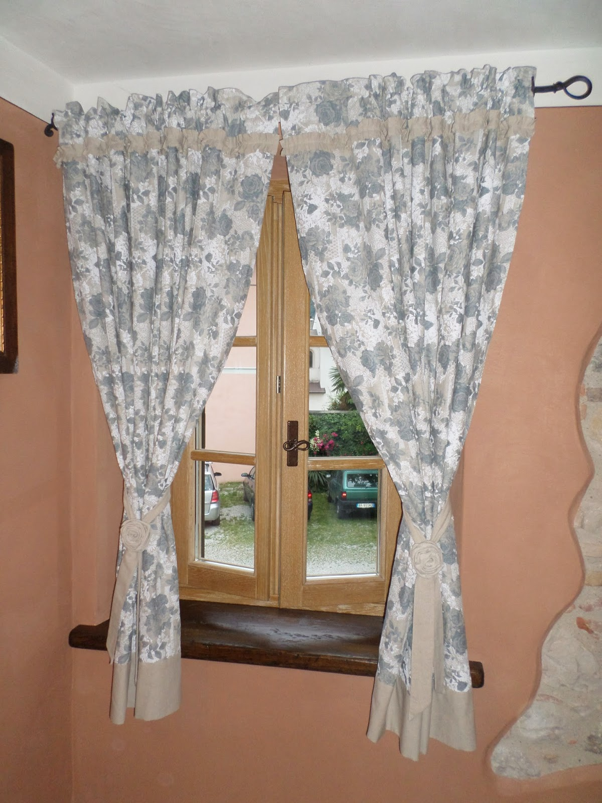 cuori pezze e fantasia by Francy : Tende in stile country chic