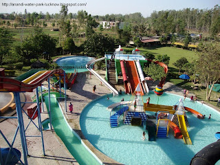 Anandi Water Park in Lucknow