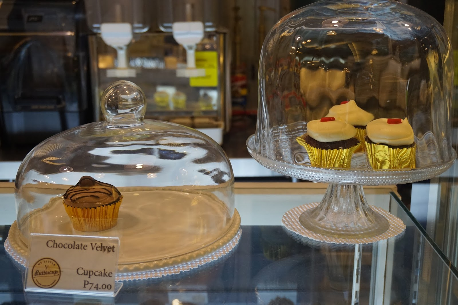 my little buttercup bakery and cafe's best seller cupcakes