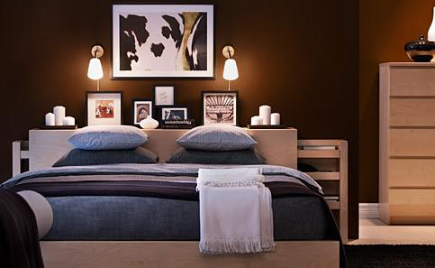 the malm bedroom furniture collection from ikea is based on design ...