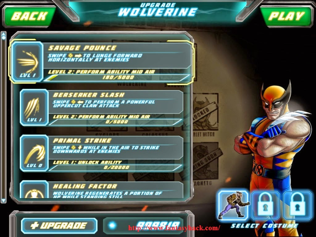 Uncanny X-Men: Days of Future Past Game Hack v2.3