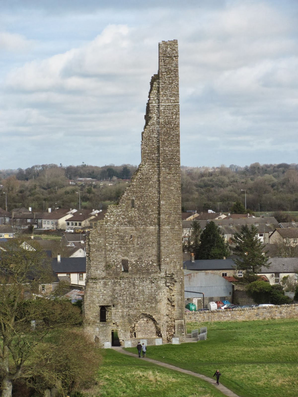 The Yellow Steeple in Trim, Ireland