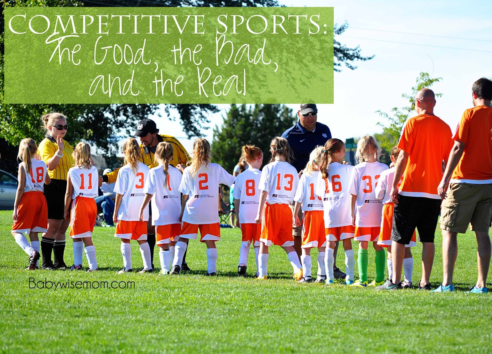 competitive sport Any parent knows that young children are filled with energy, eager to run, jump  and play transferring that natural energy to competitive sports.