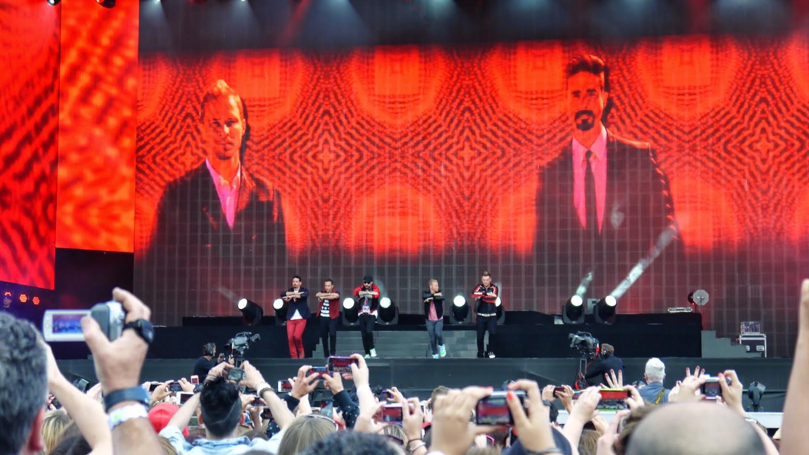 Backstreet Boys at British Summer Time Hyde Park