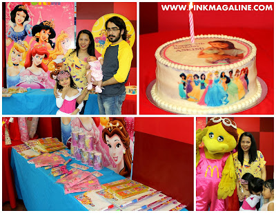 Pink MagaLine A Disney Princess Party