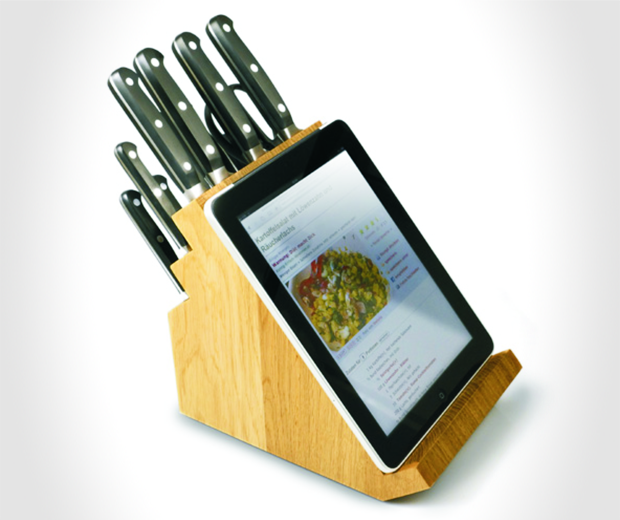 Victorinox Knife Block with Tablet Stand
