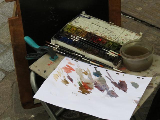 montmatre artist