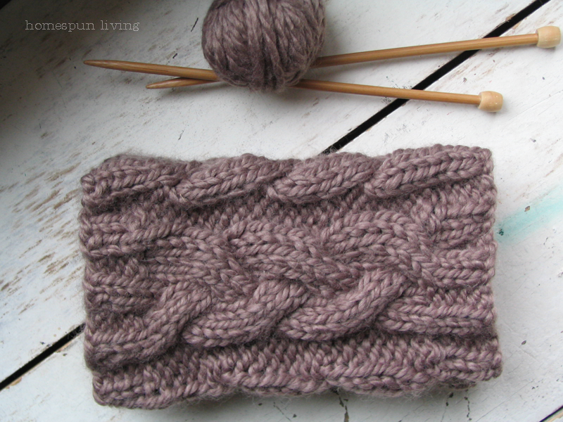 Free Knitting Pattern For Boot Cuffs : homespun living: a free boot cuff pattern just for You
