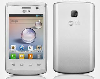 Gambar LG Optimus L1 II E410 putih
